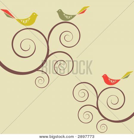Retro: Bird Flock