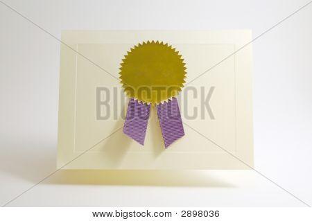 Award Card