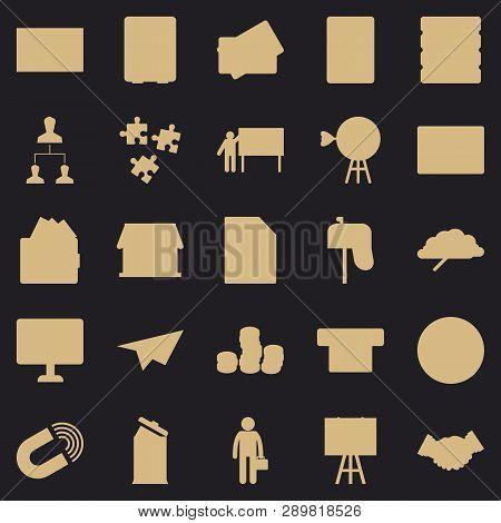 Cash Expenditures Icons Set. Simple Set Of 25 Cash Expenditures Vector Icons For Web For Any Design
