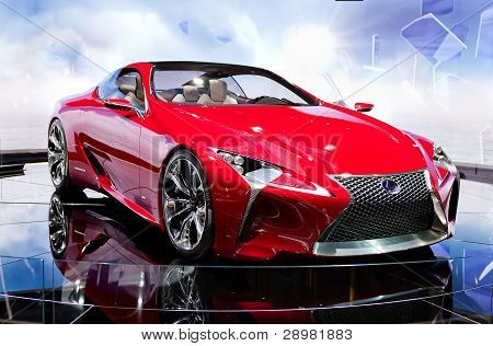 Lexus Lf-c Hybrid Concept