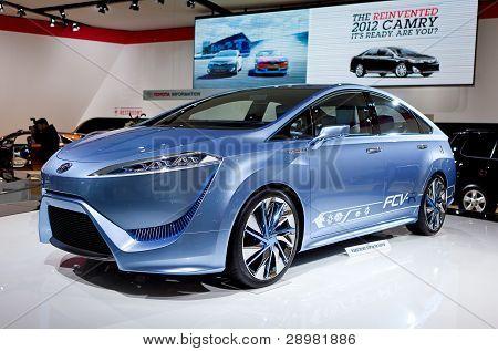 Toyota Fuel Call Vehicle