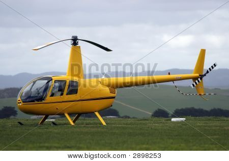 Modern Light Helicopter