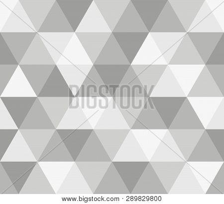 Seamless Geometric Pattern. Seamless Abstract Triangle Geometrical Background. Infinity Geometric Pa