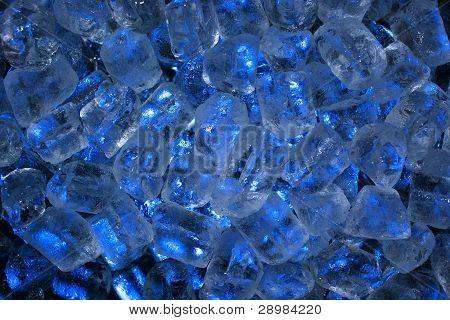 Blue Ice Background