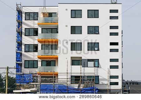 Gosford, New South Wales, Australia - March 6 , 2019: Construction And Building Progress On New Home