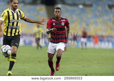 Rio, Brazil - March 16, 2019: Lucas Silva Player In Match Between Flamengo And Volta Redonda By The