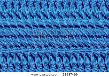 Bright Blue Thread Background