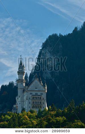 Neuschwanstein Castle Landscape