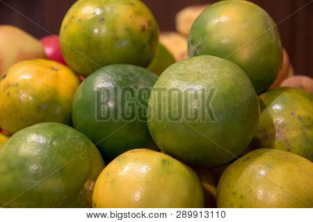 A Fresh Fruit In Dish For Eat