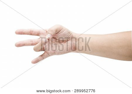 Hand Collection Of Count Numeric Sign Language Since Zero One Two Three Four Five Six Seven Eight An