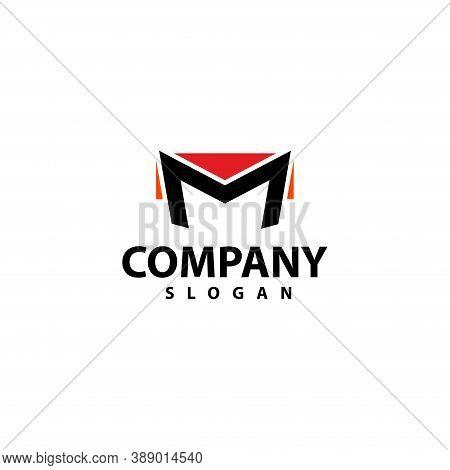 Letter M Logo Template Design Vector Illustration, Icon