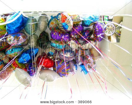 Balloons, Up View