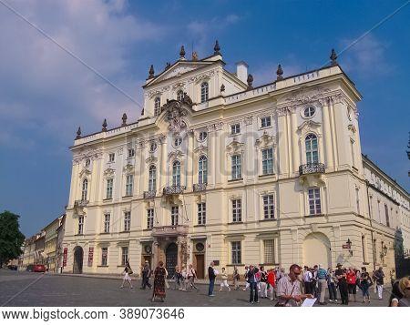 Prague, Czech Republic - 26 June, 2010: Prague Castle Complex At Prague, Czech Republic On 26 June,