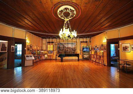 Plovdiv, Bulgaria - 12 Jul 2015: Ethnographic Museum, Plovdiv, Bulgaria
