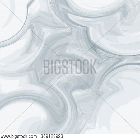 Abstract Vector Marble Texture. Painting With Marbling. Marble Texture. Paint Splash. Colorful Fluid
