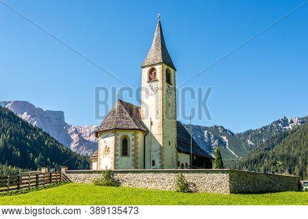 View At The Church Of San Vito In San Vito Village - South Tyrol,italy