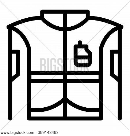 Rescuer Equipment Icon. Outline Rescuer Equipment Vector Icon For Web Design Isolated On White Backg