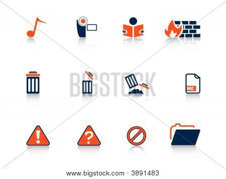 Web Icons Blue Series