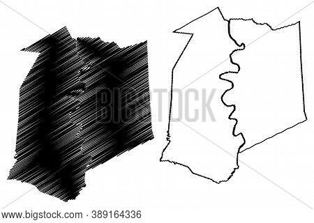 Franklin County, Kentucky (u.s. County, United States Of America, Usa, U.s., Us) Map Vector Illustra