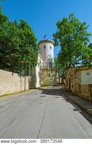Old Castle In The Centre Of Cesis, Latvia