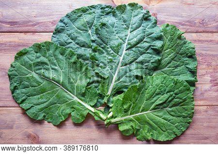 Leaves Of Rastan ( Collard Greens, Collards )   - Popular Leafy Vegetables In Balkan Cuisine - On Ru