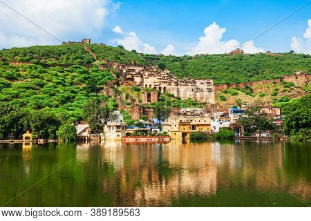 Garh Palace Is A Medieval Palace Situated In Bundi Town In Rajasthan State In India