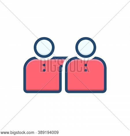 Color Illustration Icon For Practicality Feasibility Practicability Viability Workability Functional