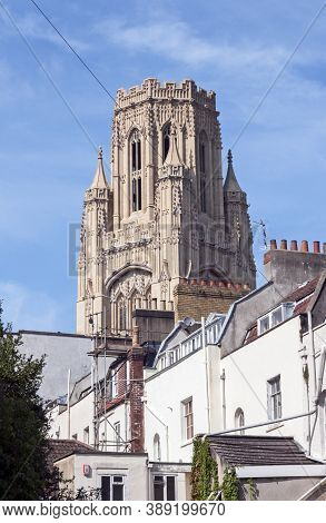 Bristol, Uk - September 8, 2007: The Tower Of The Wills Memorial Building At The University Of Brist