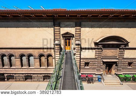 Palais De Rumine Palace Museum Is A 19th-century Building In Florentine Renaissance Style In Lausann