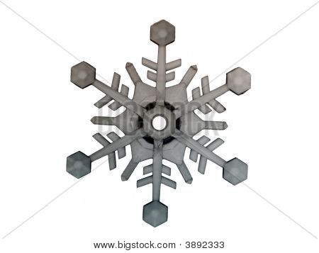 Grunge Snowflake Collection