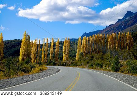 The Picturesque Highway 40 - Patagonia - Argentina