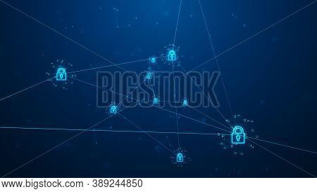 Cyber Security Of Digital Data Network Protection.