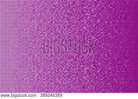Background Made Of Pink Sequins, Glitters Dots