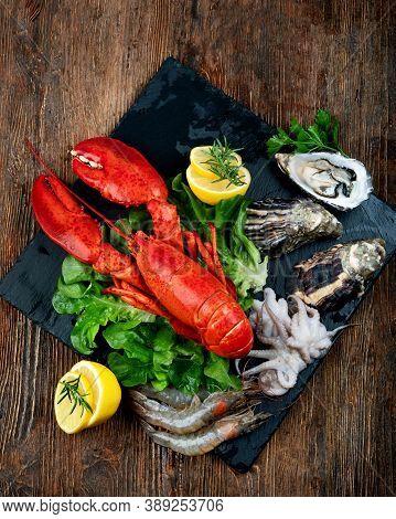 Freshly Boiled Lobster