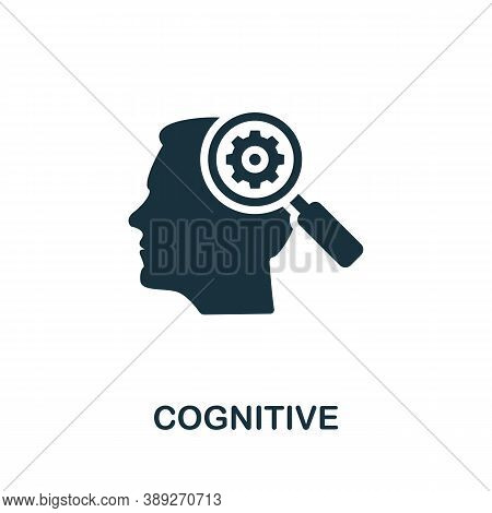 Cognitive Icon. Simple Element From Life Skills Collection. Filled Cognitive Icon For Templates, Inf