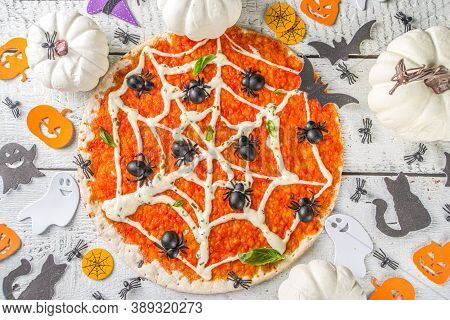 Halloween Funny Pizza