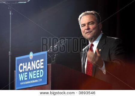 Gov. Kaine At Obama Rally