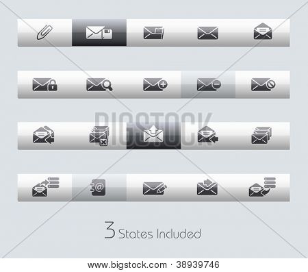 E-mail // Classic Series +++ It includes 3 buttons states in different layers. +++