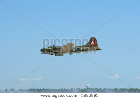 B-17 With Open Bomb Bay