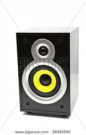 Speaker, isolated on white