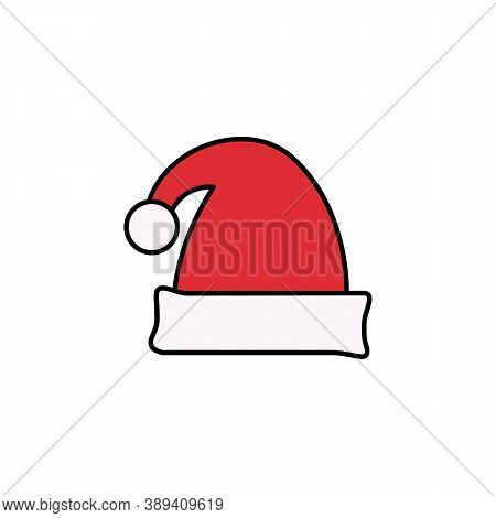 Christmas, Hat Line Icon. Elements Of New Year, Christmas Illustration. Premium Quality Graphic Desi