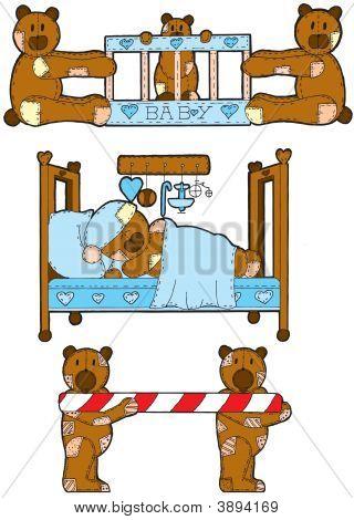 Baby Blue Teddy Bears
