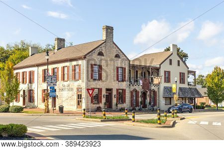 Bardstwon, Kentucky; Usa; Sept. 26, 2020. The Old Talbott Tavern Was Built In 1779 Which Is One Of T