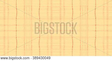 Autumn Tartan Pattern. Watercolour Plaid Flannel. Color Squares For Twill Design. Seamless Yellow Ta