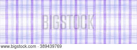 White Flannel Checks. Watercolor Picnic Material. Hipster Checkered Ornament. Seamless Flannel Check