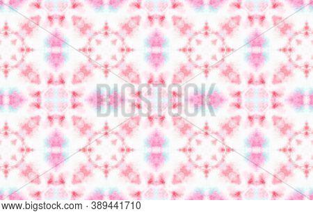 Water Colour Motif. Tie Dye Bohemian Abstract Wallpaper. Pastel Color Design. Watercolor Painted Rep