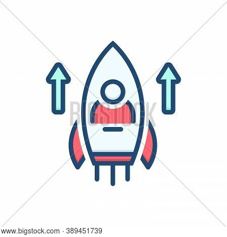 Color Illustration Icon For Abilities Skill Experience Expertise Knowledge Innovation Organization U