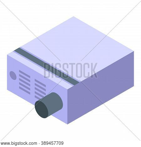 Voltage Regulator Box Icon. Isometric Of Voltage Regulator Box Vector Icon For Web Design Isolated O