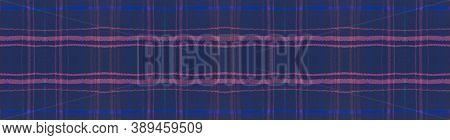 Seamless Plaid Texture. Green Tartan Fabric. English Tweed. Fashion Checkered Blanket. Trendy Plaid