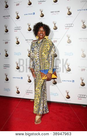 LOS ANGELES - SEP 21:  Loretta Devine arrives at the Primetime Emmys Performers Nominee Reception at Spectra by Wolfgang Puck on September 21, 2012 in Los Angeles, CA